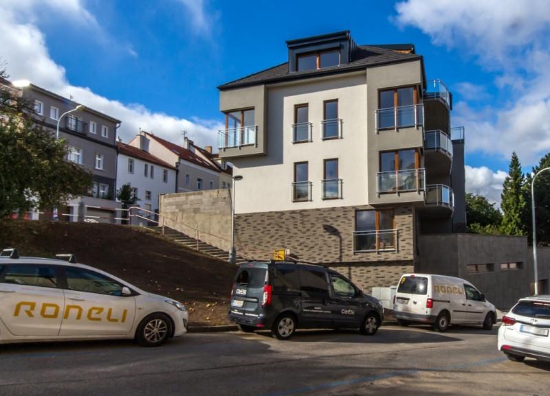 Developerský projekt Apartments Vodňanského úspěšně zkolaudován